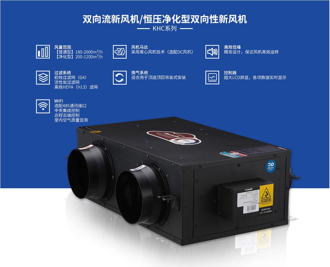 KHE系列PM2.5全热交换器